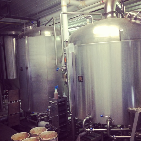 Where the magic happens at 16 Mile Brewery!